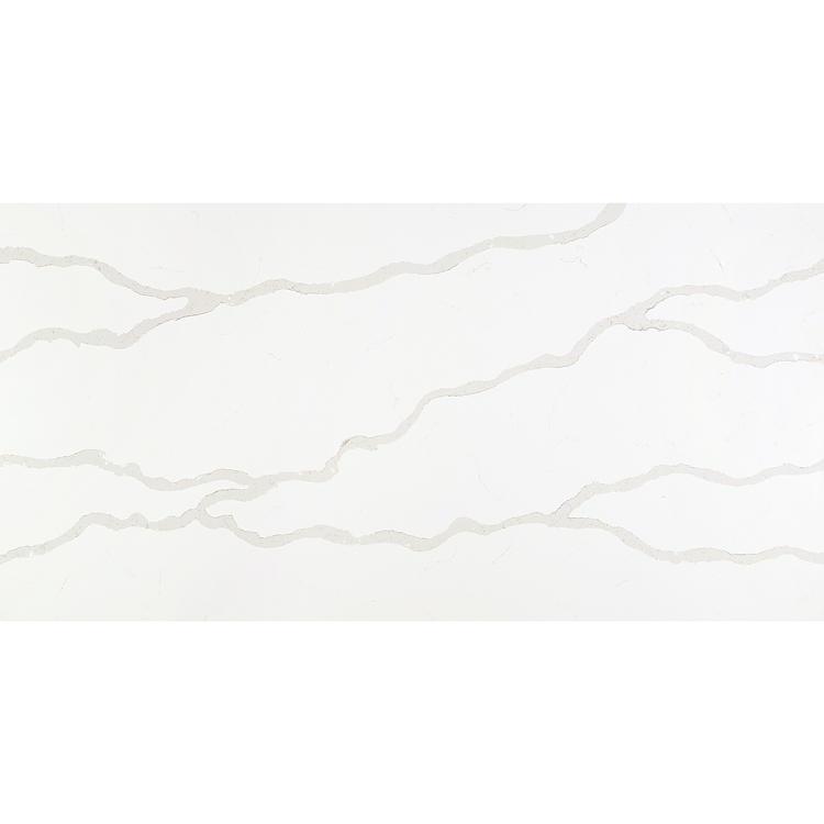 Largest size white surface artificial stone quartz slab