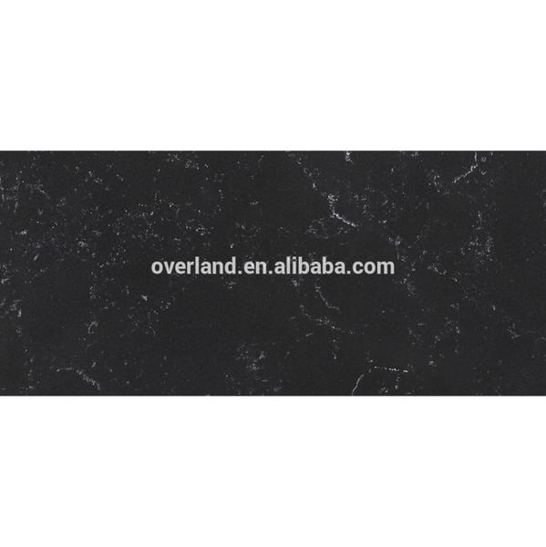 Guangdong Black Artificial quartz stone