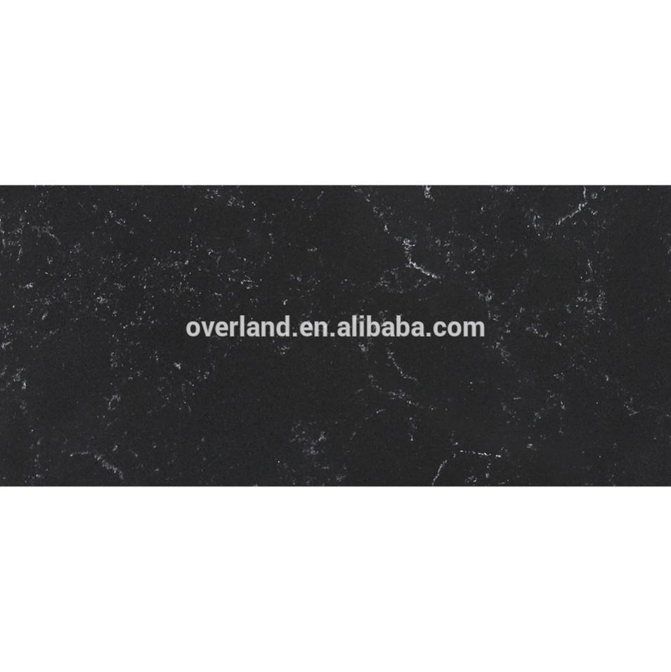 Guangdong Black Artificial quartz stone