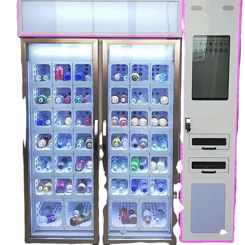 cooling locker vending machine