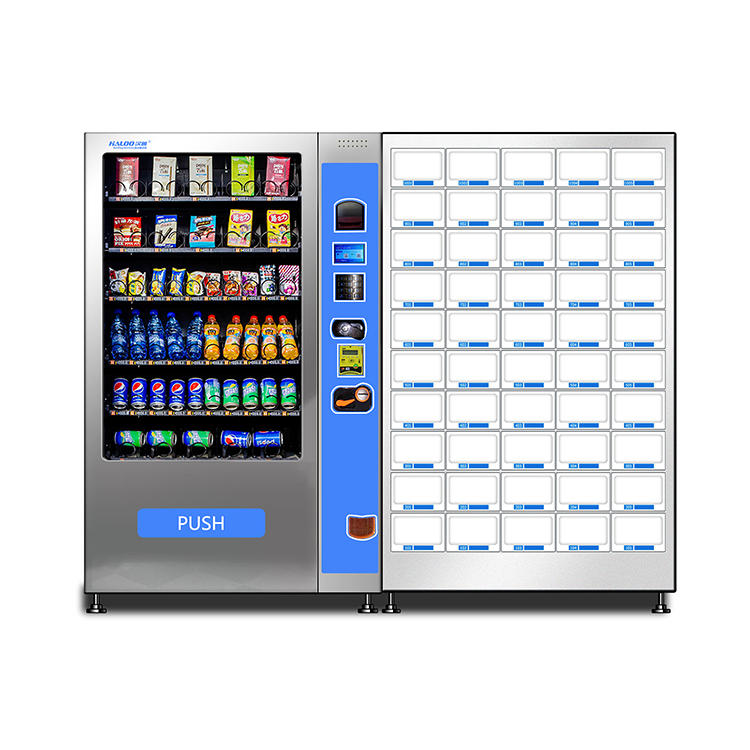 China Supply Cheap Best seller combo snack drinks vending machine with payment function