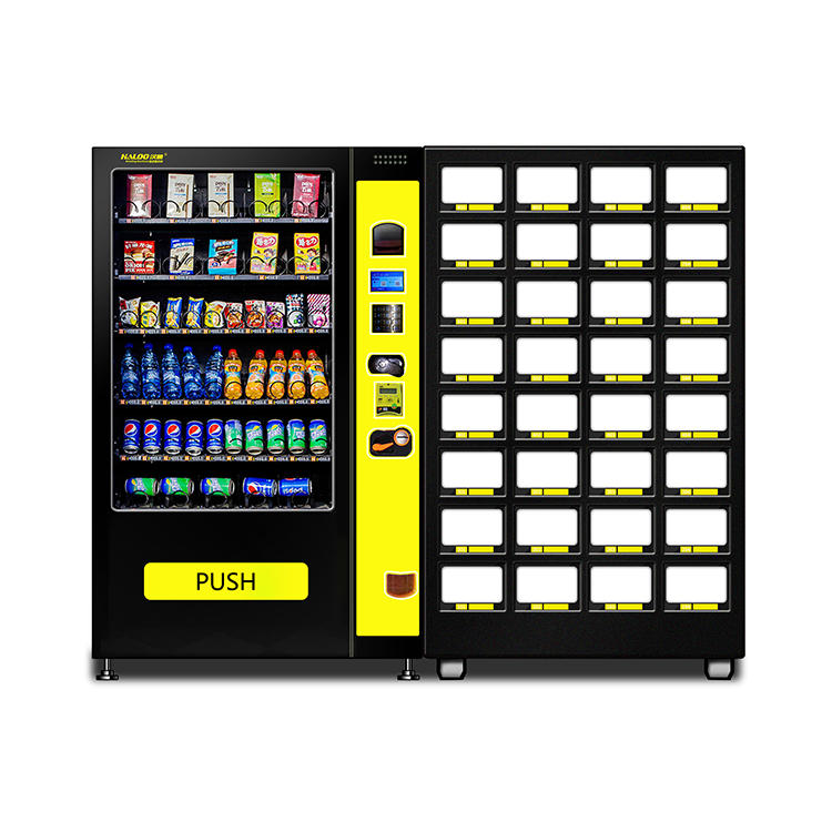 China Manufacturers automatic slave cabinet Drink Snake Vending Machine for sale