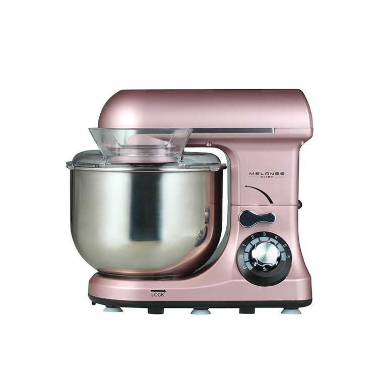 Table top plastic food mixer for cooking mixer