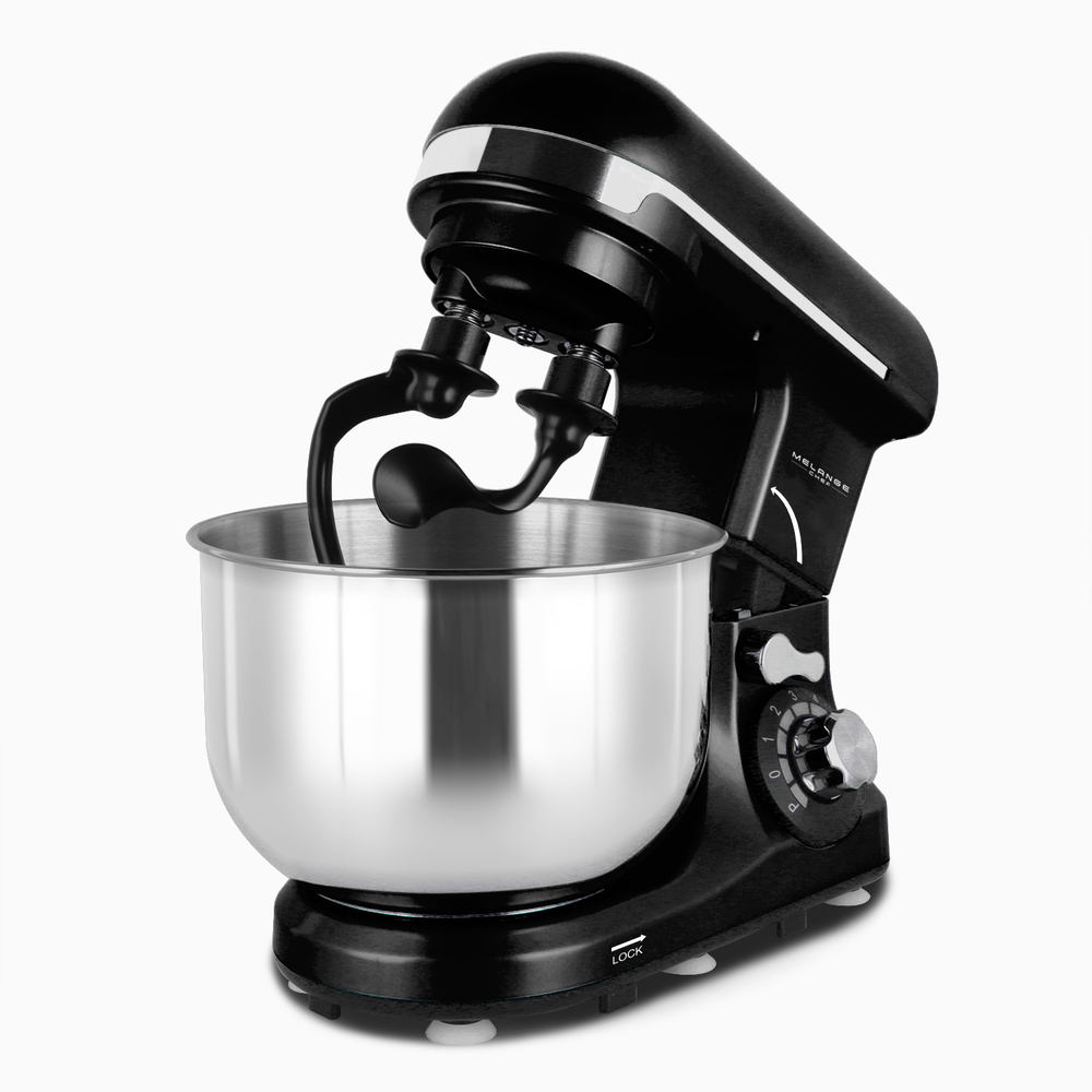 Most popular Household dough mixer Stainless steel metal base pizza dough kneading machine