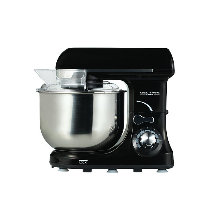 600Wplanetary compact stand mixer with rotating bowl