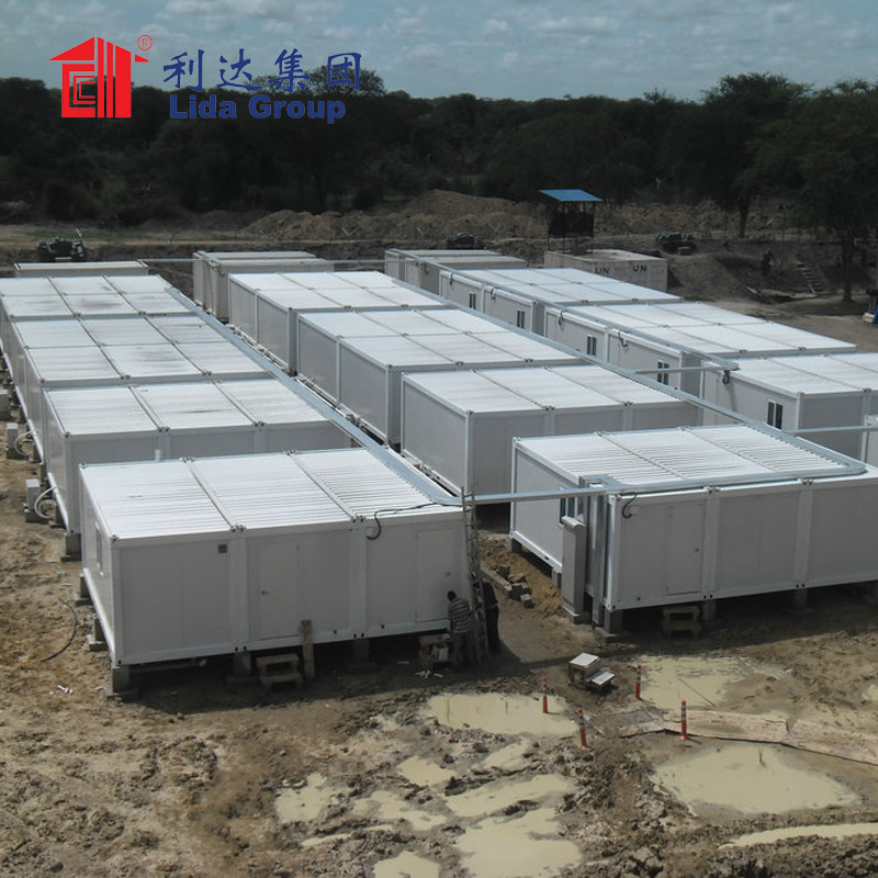 Africa Camp accommodation for UN ARMY military modular building