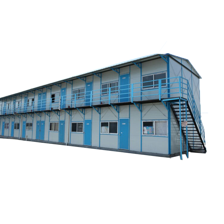 Light steel frame Prefabricated worker labor camp houses project in Saudi Arabia