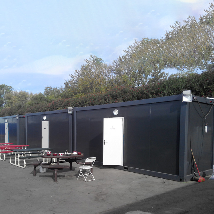 Modular Flat Pack Container accommodation housing for refugees and army