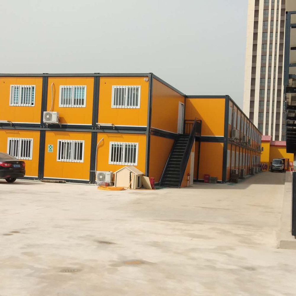 worker container house with toilet room