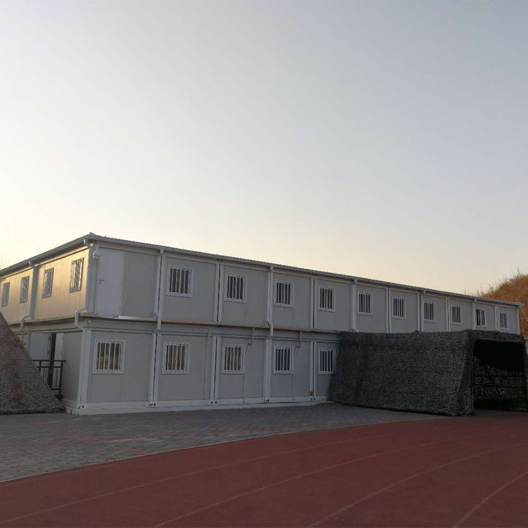 prefabricated modular camp building temporary facilities