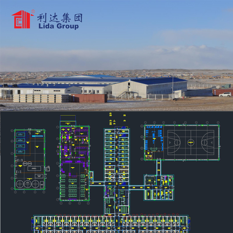 100~20000 man Labor camp mining cmap oil camp LNG Camp accommodation military trailer building container house