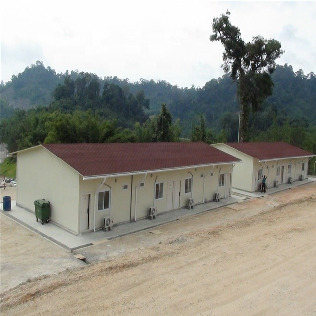 Construction site worker accommodation camp Refinery or LNG projects labour camp