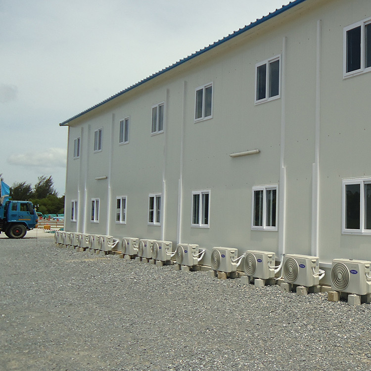 Largest prefabricated house builders steel structure factory