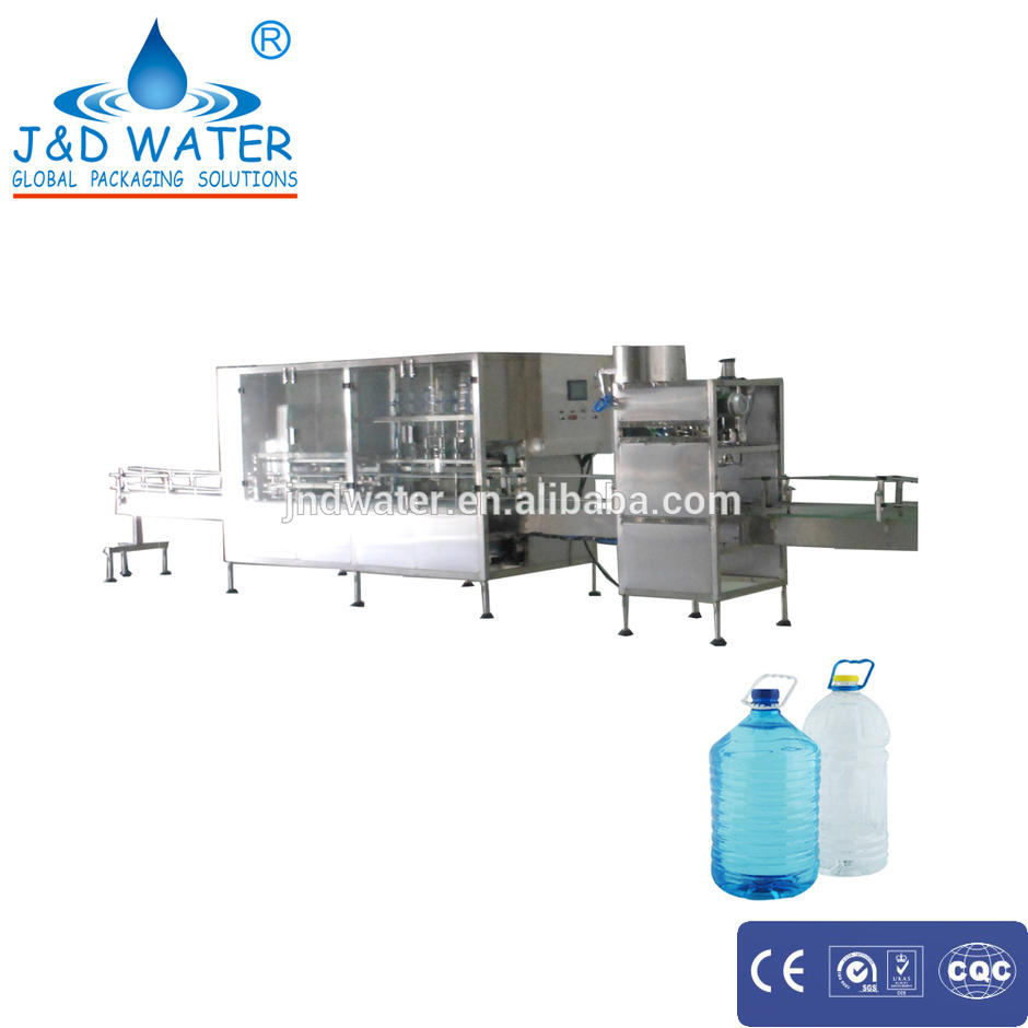 Magnetic torque is used plastic bottle filling and capping machine for screw capping