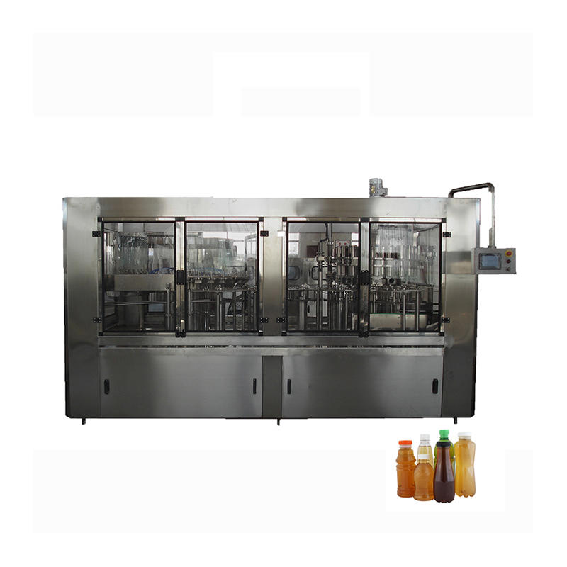 Aseptic Liquid Beverage Juice Bottle Hot Filling Machine