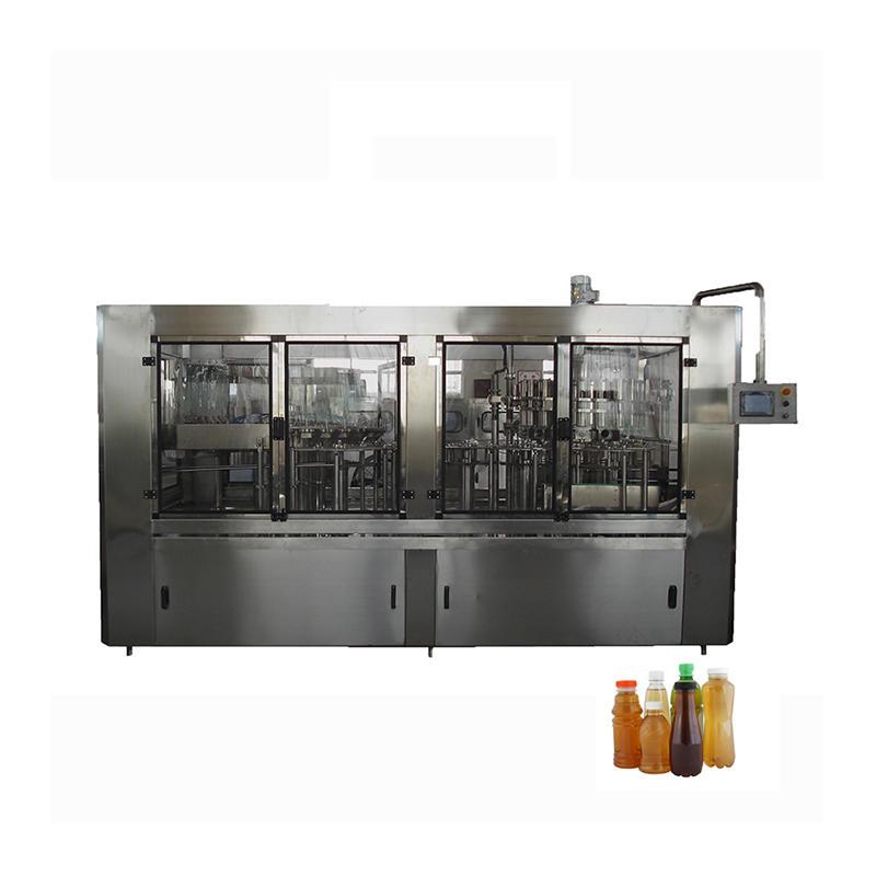 Aseptic Liquid Beverage Juice Bottle Hot Filling Machine