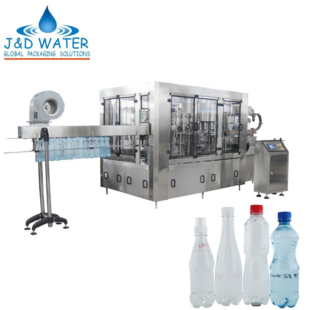 JND 8-8-3D Automatic carbonated filling liquid machine