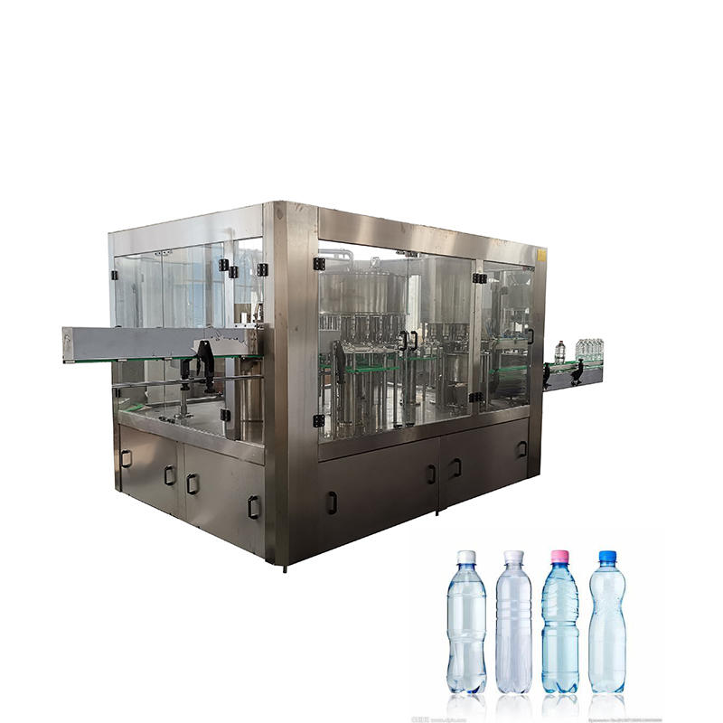 automatic non-carbonatedbottle water filling machine 8-8-3