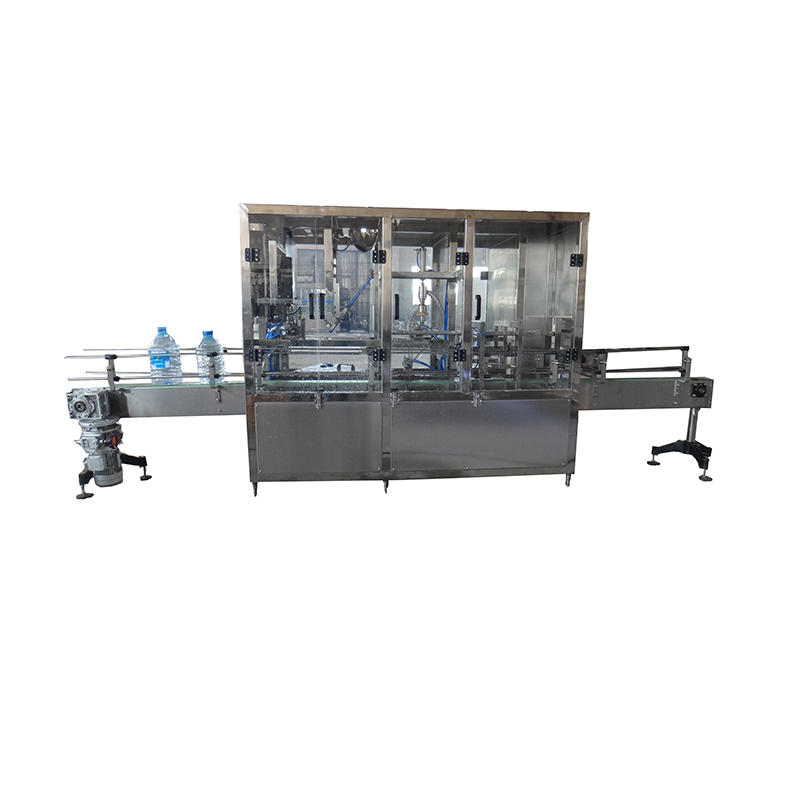 Hot Sale Automatic 3-5 L Plastic Bottle bottled mineral pure water filling sealing machine line