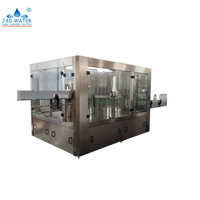 5000-10000BPH 3 In 1 Drinking Water Bottling Machine Filling Capping Machine