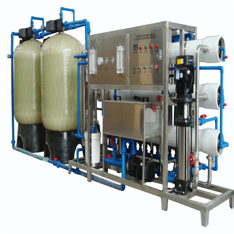 Drinking Water Treatment Equipment (RO-3000 l/h)