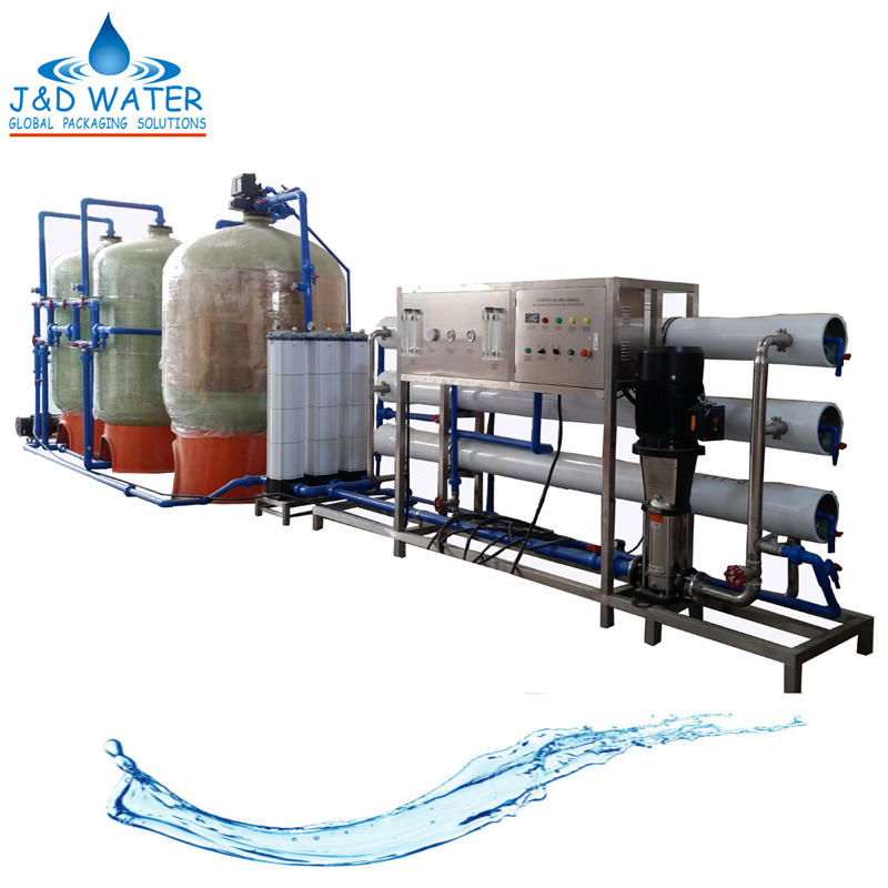CE Approved Automatic Small RO Water Treatment System Plant
