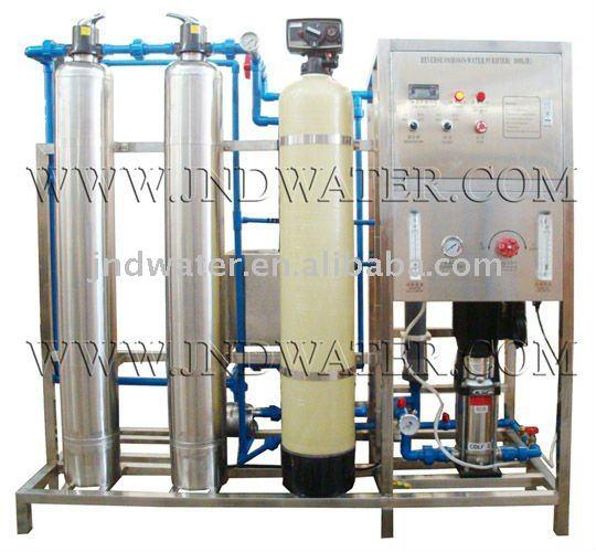 300LPH RO Water Treatment with Water Softer