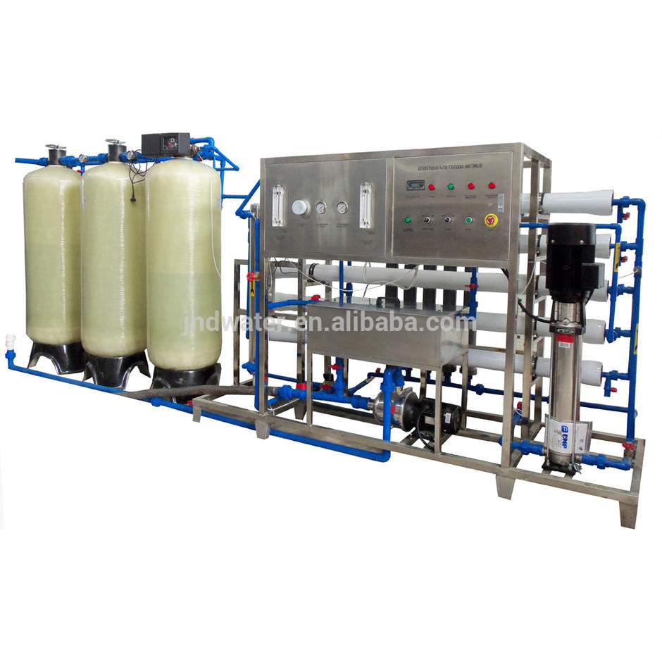 3000LPH RO Water Treatment with Water Softening Equipment