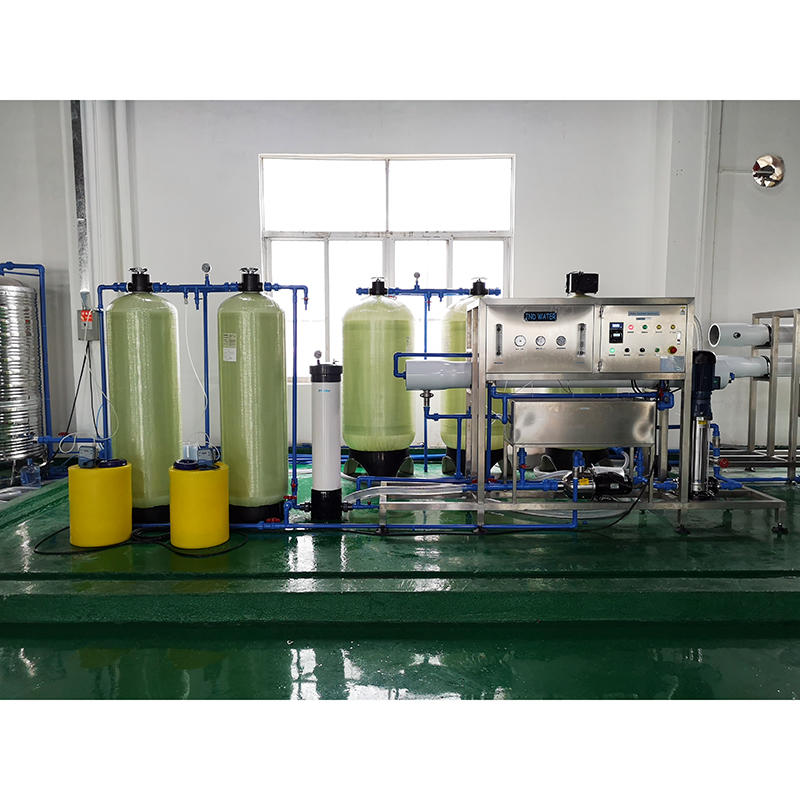 Automatic reverse osmosis ro water treatment mineral water plant project processing purification machine