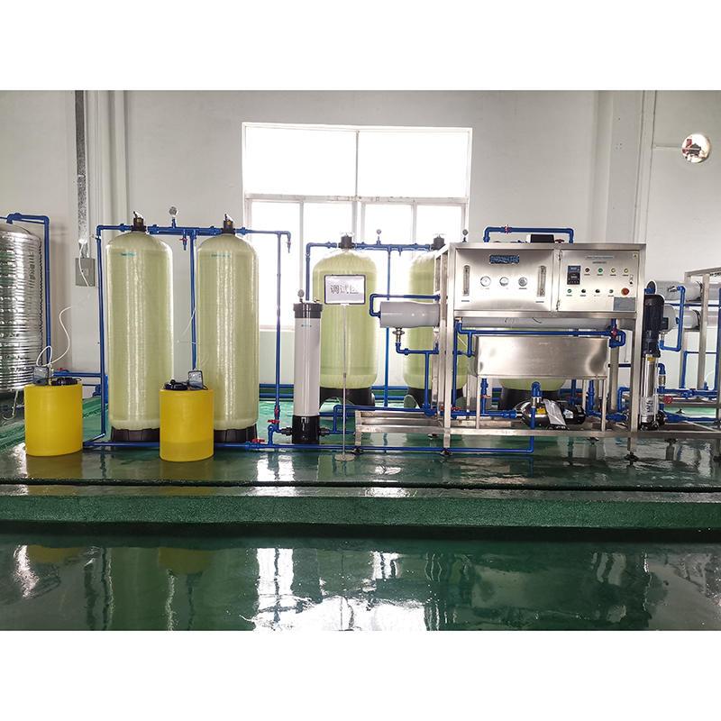 Automatic reverse osmosis salt water treatment machine plant