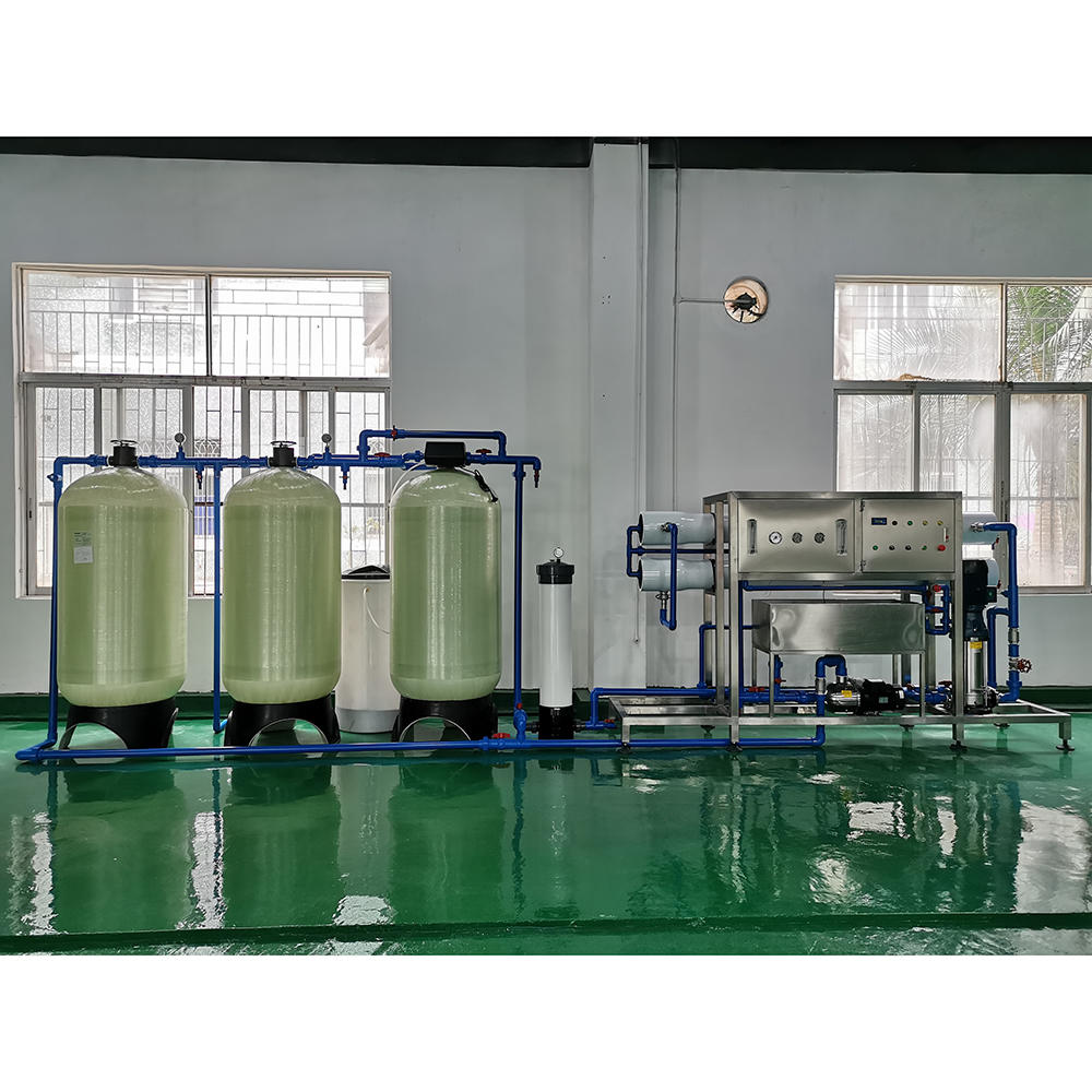 3-5 tons small revers osmosi plant pure water filter treatment system equipment