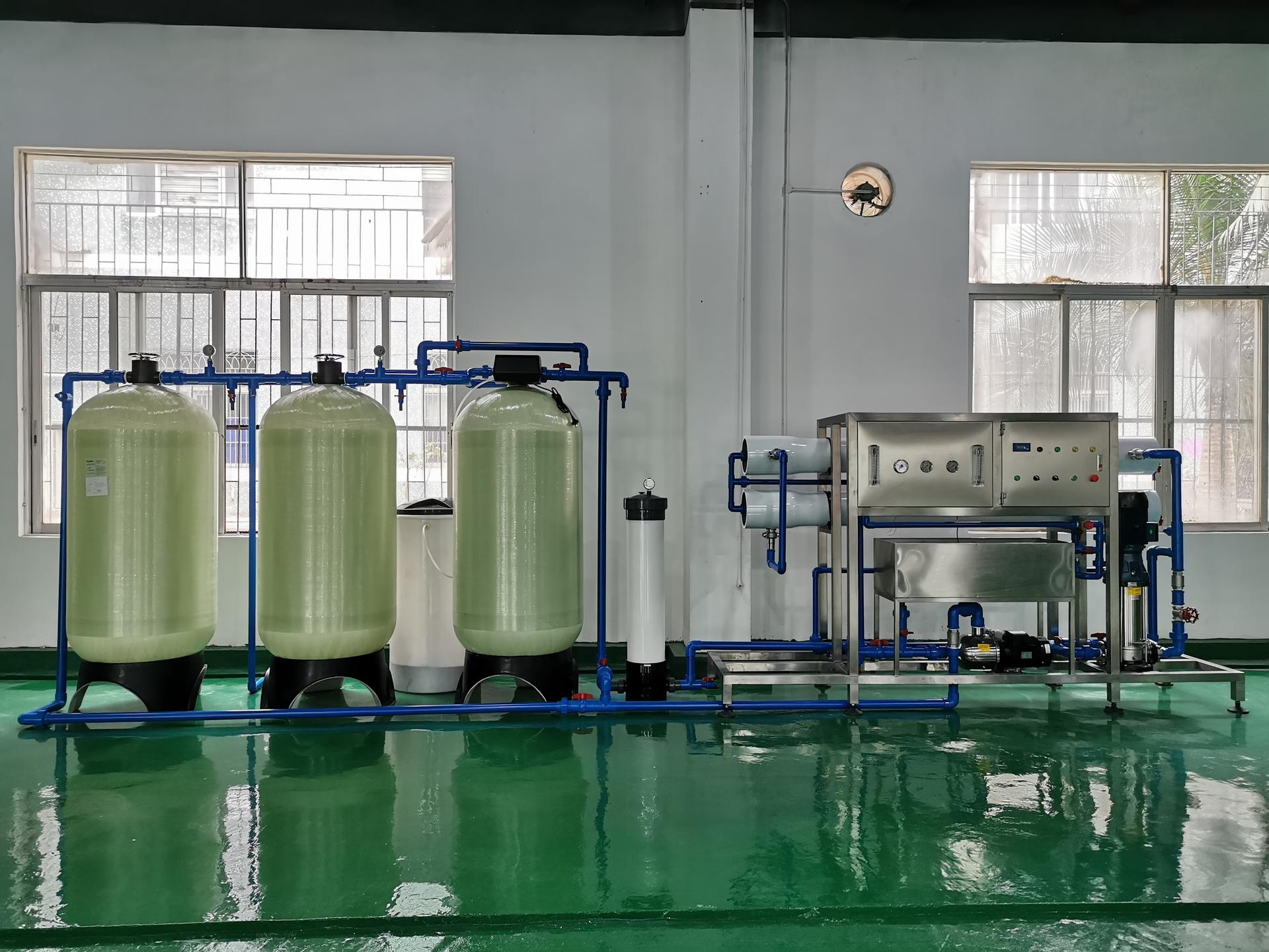 3-5 tons reverse osmosis filter pure water machine system equipment