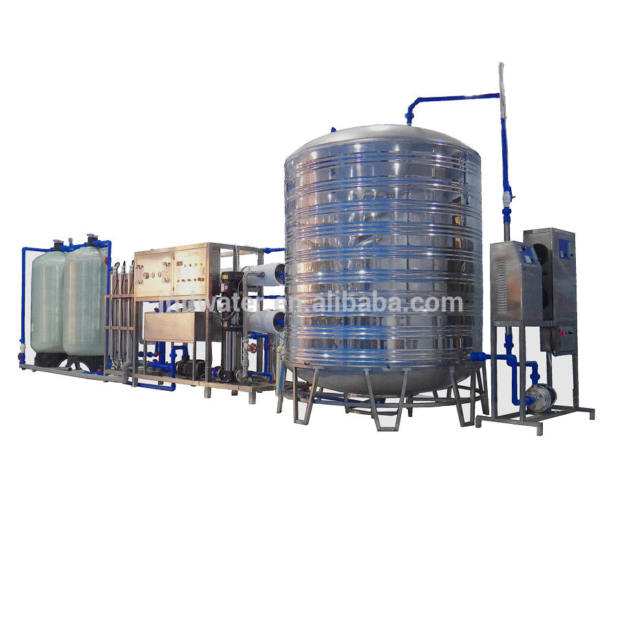Automatic high efficiency Stainless steel tank RO systemDrinking water treatment machine