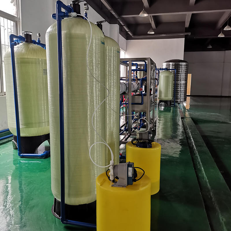 Automatic reverse osmosis waste underground spring water treatment system