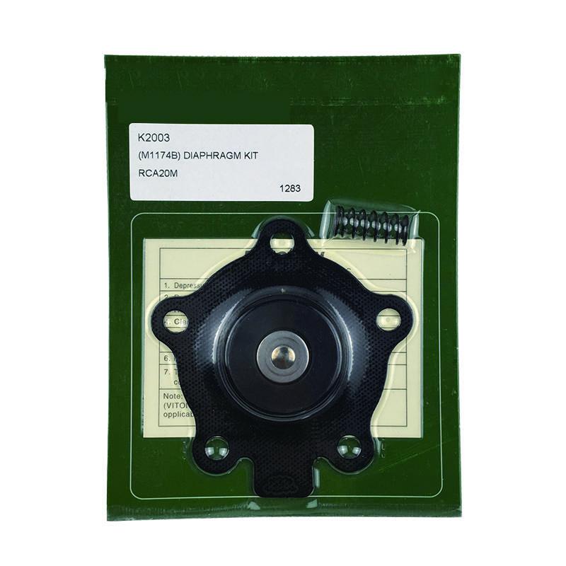 CA20MM Pulse Valve K2003 Membrane DN20 Pulse Valve K2003 Rubber Diaphragm Pneumatic valve
