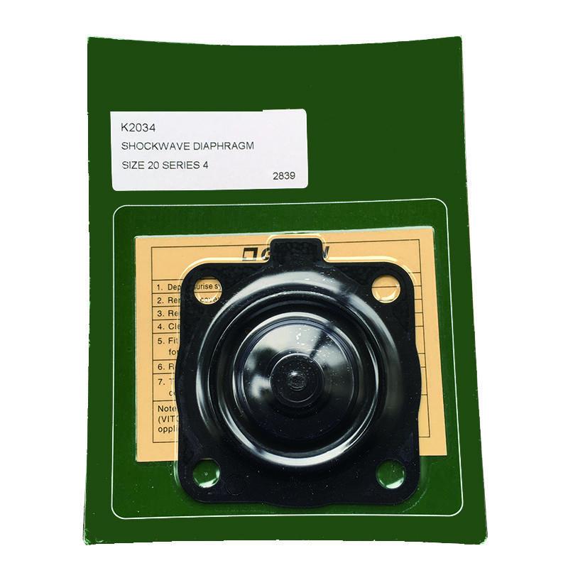 Pulse ValveDN20 Membrane Pulse Valve K2034 Shockwave Rubber Diaphragm pneumatic pulse valve