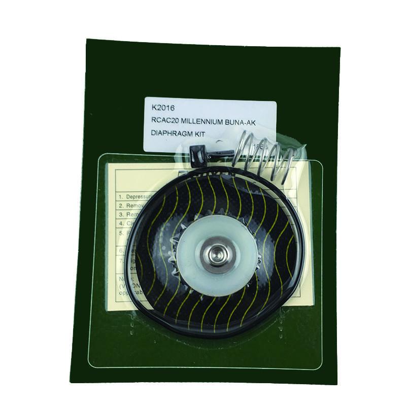 RCA20T3 Pulse Jet Valve Membrane DN20 Pulse Valve K2016 Rubber Diaphragm Pneumatic valve