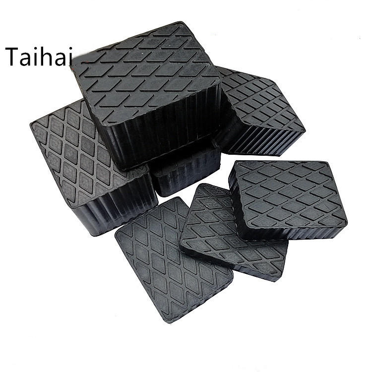 High quality supplier for custom Rubber Jack pads for auto car lift solid rubber pads