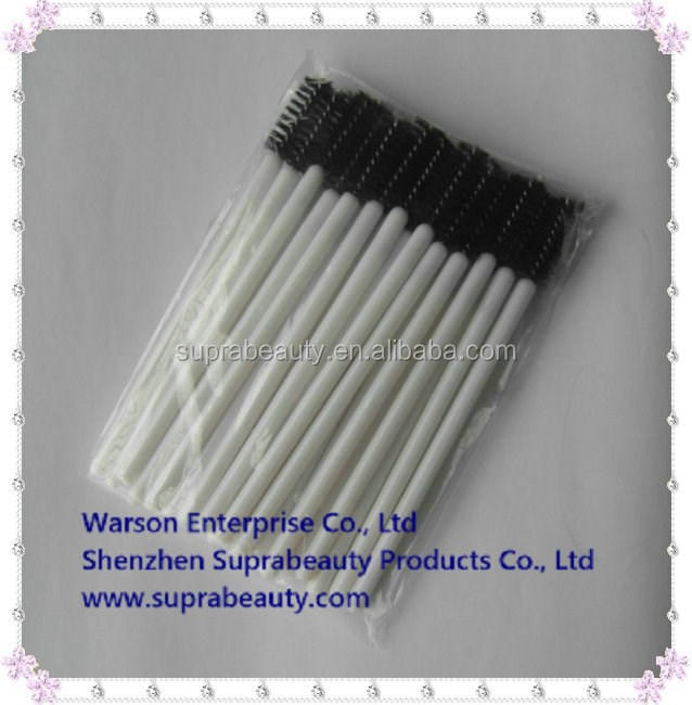 25 pcs per pack plastic handle nylon makeup applicator disposable nail brush