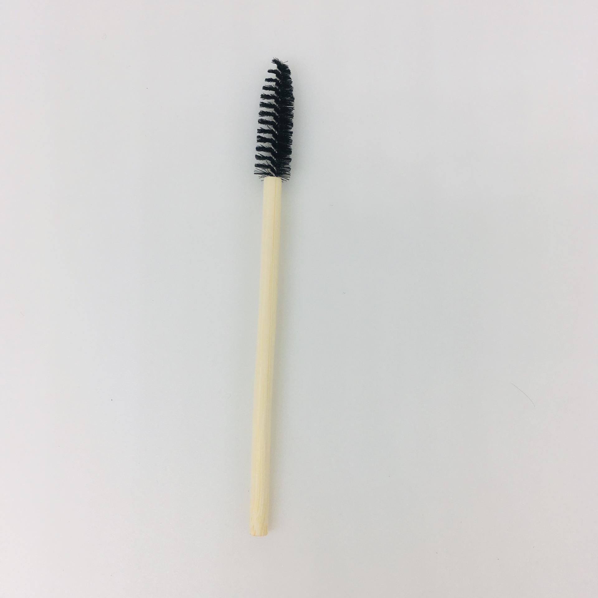 Eco-friendly bamboo mascara wand