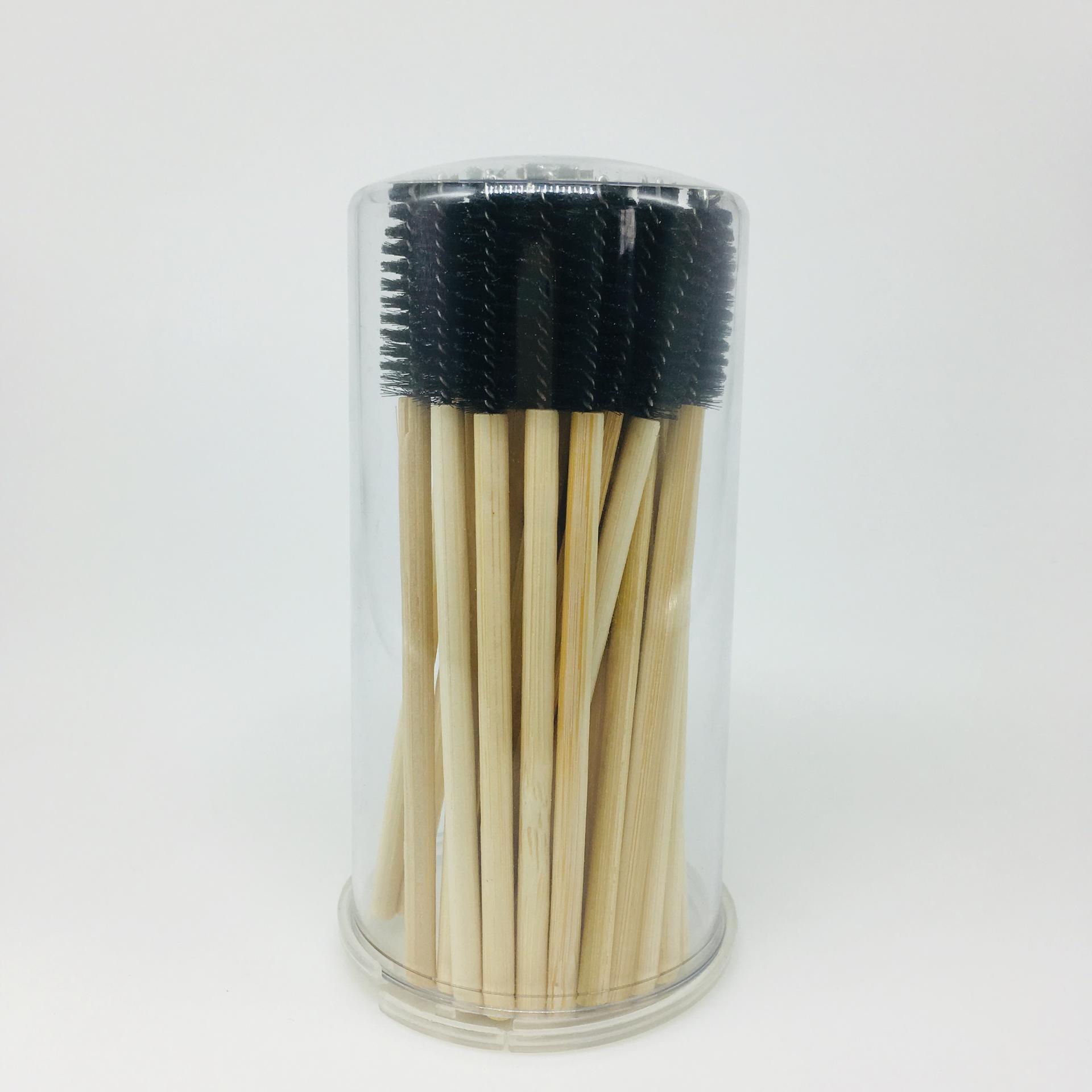 Wholesale Pink Silicone Eyelash Brush Disposable Mascara Wands