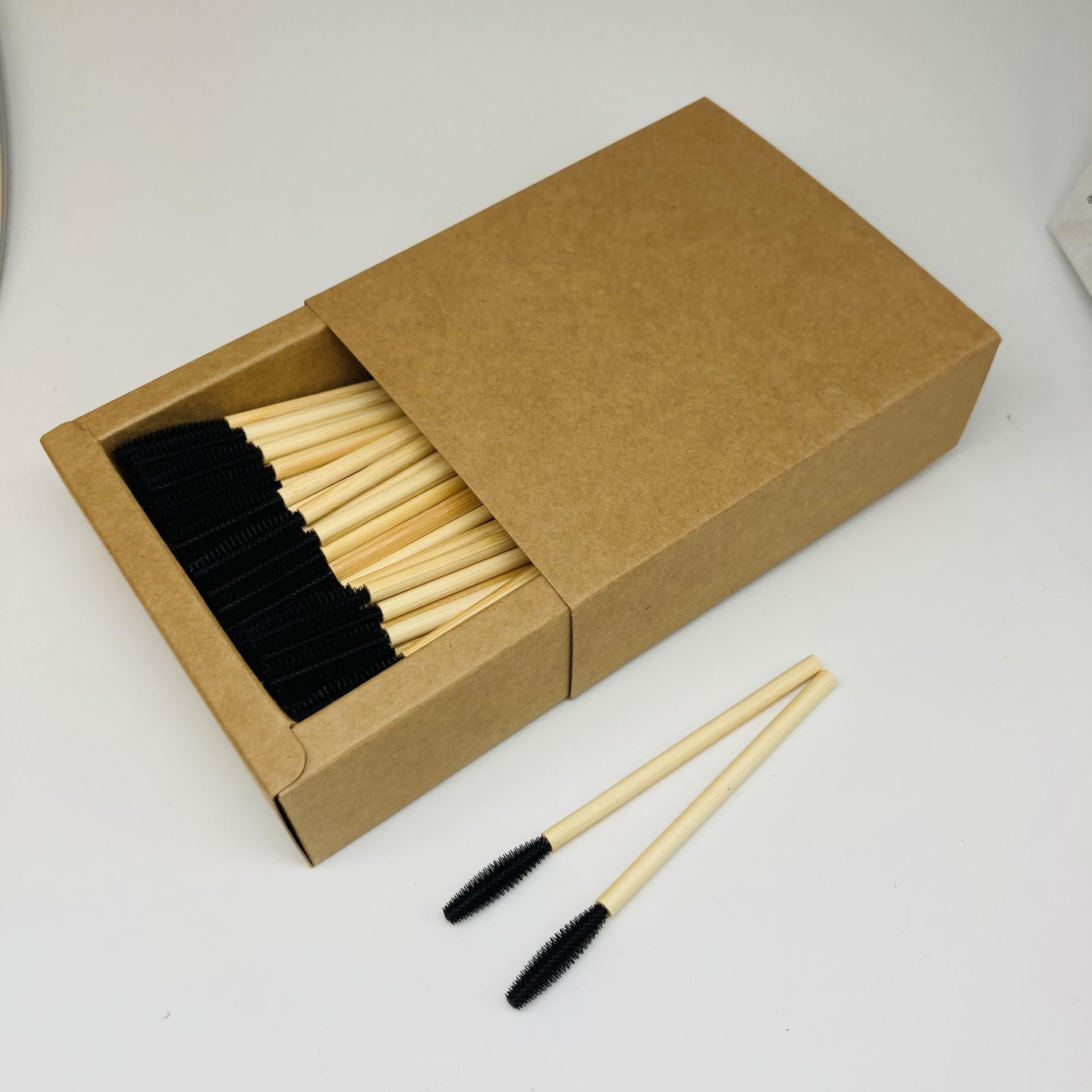 2021 eyelash brush nylon hair tapper shape mascara applicator brush set