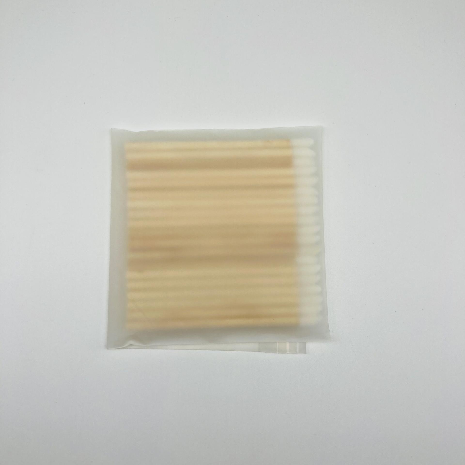 Bamboo handle disposable lip gloss big pplicator xl disposable lip wands
