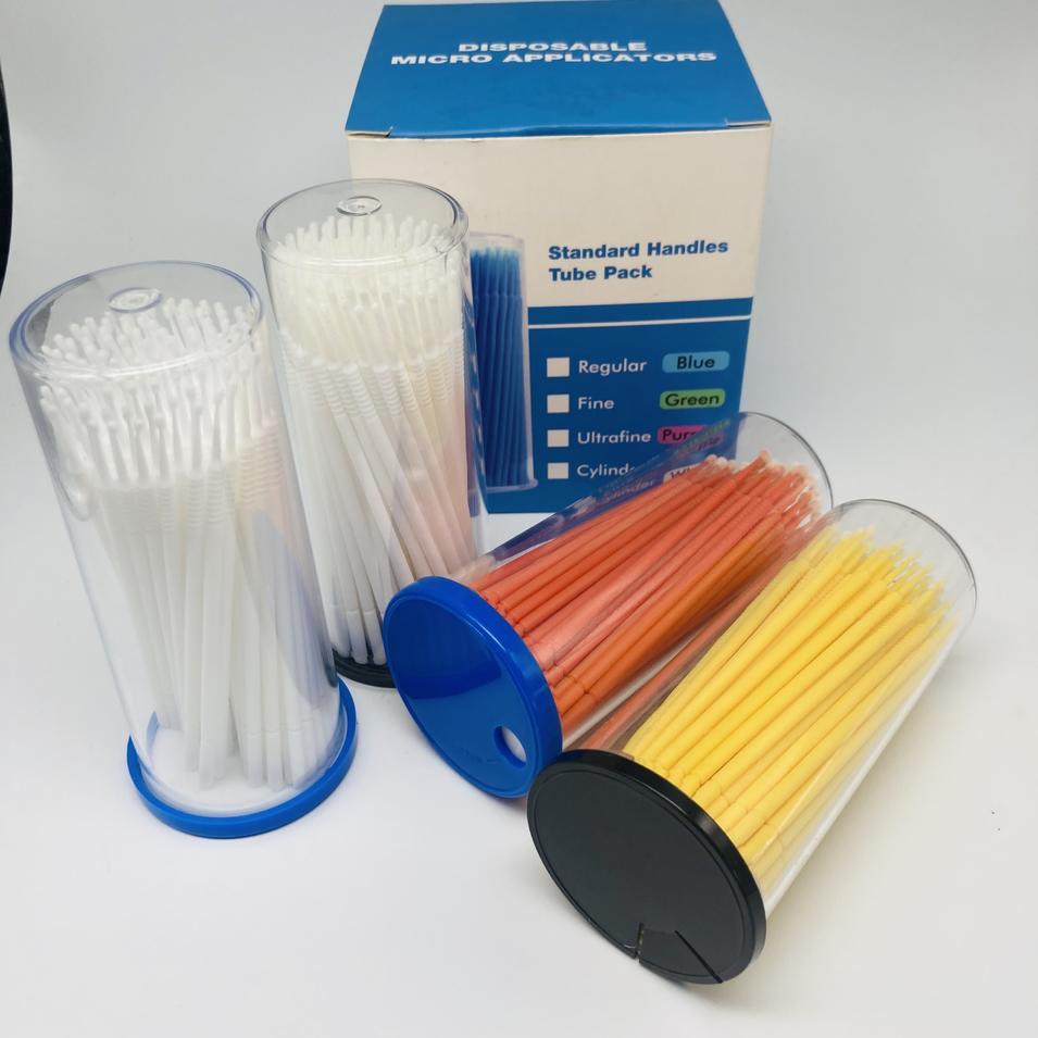 100pcs Flocking sterilized disposable micro applicator