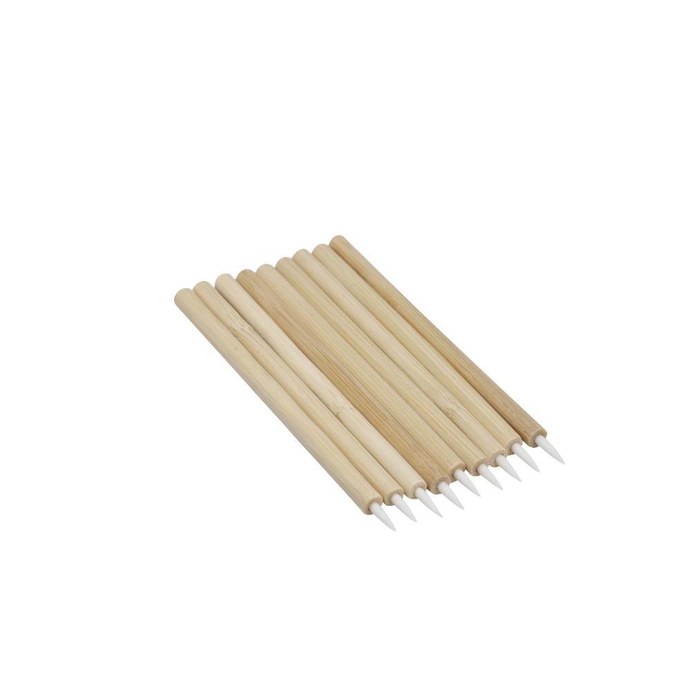Biodegradable bag packaging eco-friendly disposable applicator bamboo lip brush