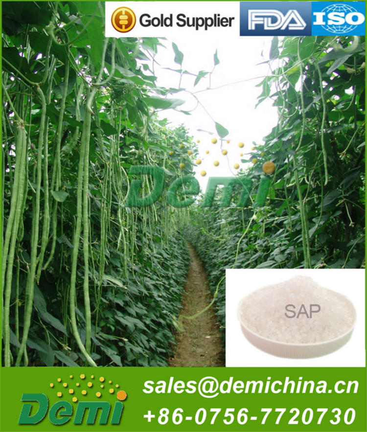 Wholesale Biodegradable Polymer Sodium Polyacrylate Water Absorbent Polymerfor Diapers