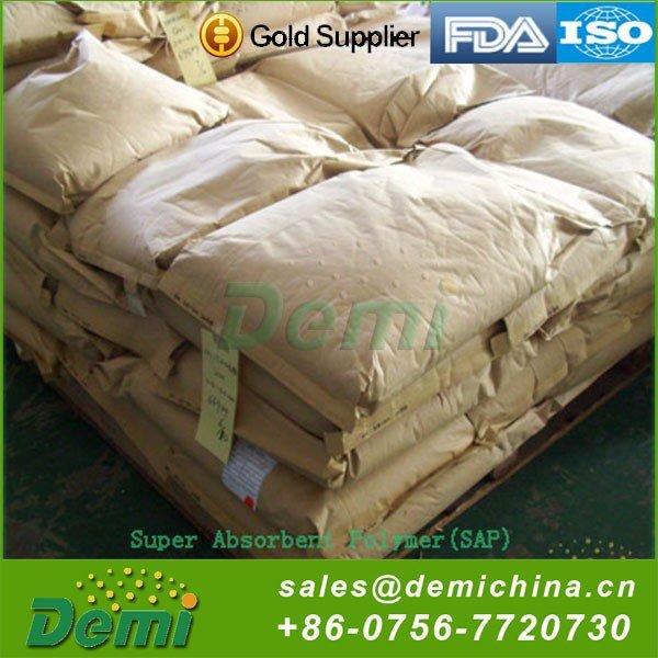 Eco-friendly Reclaimed Material Biodegradable Sap Super Absorbent Polymer Powder