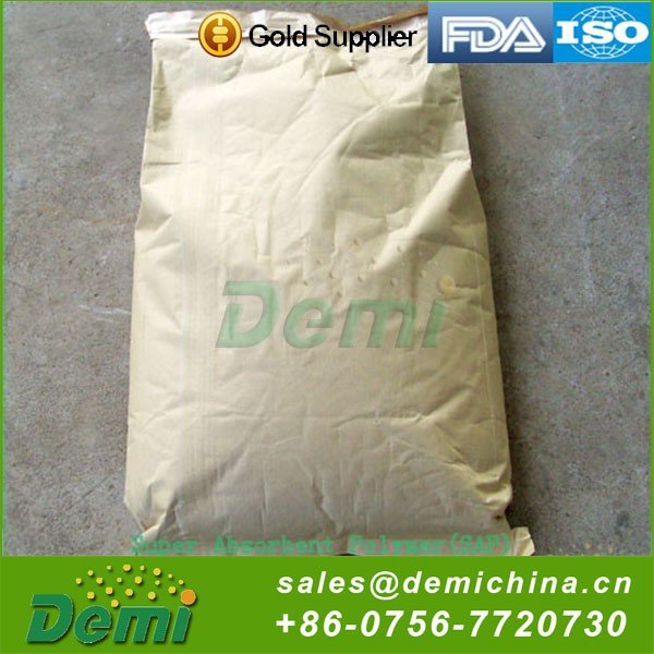 Biodegradable Sap Super Absorbent Polymer Price for Diaper