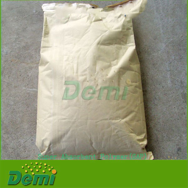 Wholesale Biodegradable Water Retention Sap Super Absorbent Polymer