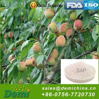 China Manufacturer Sap Fertilizer Biodegradable Super Absorbent Polymer